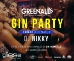 Gin Party com DJ Nikki no Gliese Bar