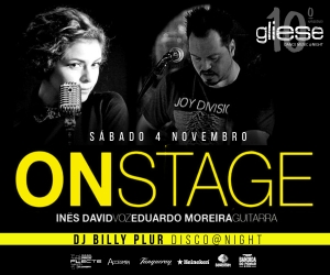On Stage - Acustic Covers no Gliese Bar - Sábado, 4 de Novembro