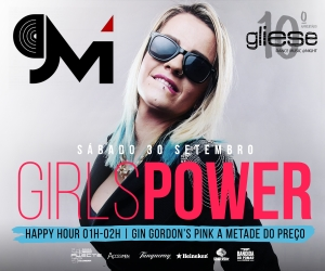 Girls Power - 30 de Setembro no Gliese Bar